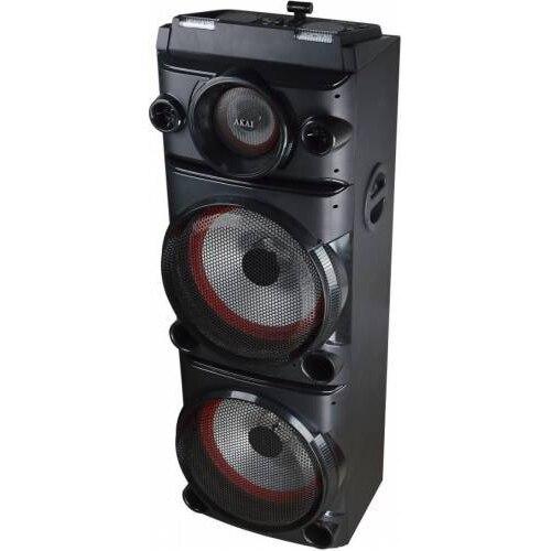 Fotografie Sistem audio Akai DJ-8215, Bluetooth, DJ Effect, party light, karaoke, negru