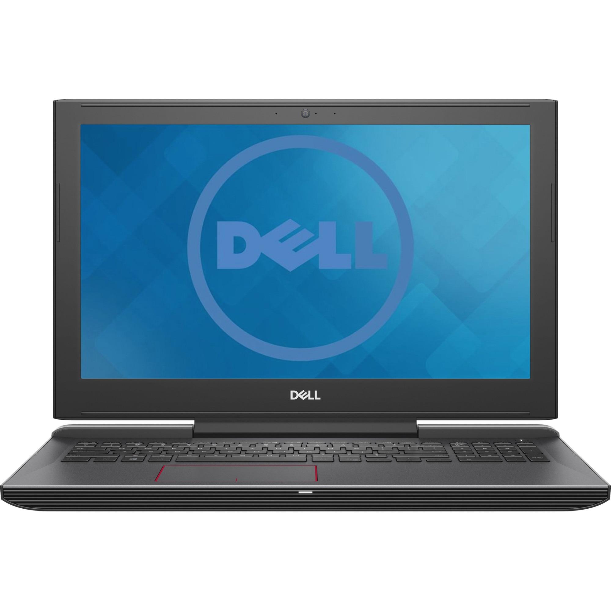 "Fotografie Laptop Gaming Dell G5 15 5587 cu procesor Intel® Core™ i7-8750H pana la 4.10 GHz, Coffee Lake, 15.6"", Full HD, 16GB, 1TB HDD + 256GB SSD, NVIDIA GeForce GTX 1060 6GB, Linux, Black"