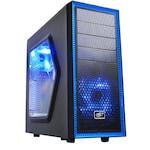 Настолен компютър PC GAMING League SIXCore® Intel i5-8500 4.1Ghz TURBO, 16GB RAM DDR4, 1000GB HDD + 512GB SSD SAMSUNG, VIDEO 4GB GDDR5 nVidia Geforce GTX-750, DVD-RW + Подарък (клавиатура, мишка)