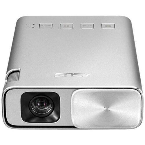 Fotografie Videoproiector Asus ZenBeam E1, portabil, DLP, WVGA 854x480, 30.000 ore, HDMI, MHL, argintiu