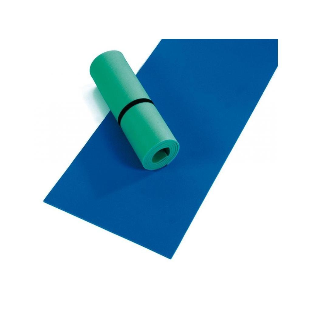 Polifoam, kék vagy zöld színű, 7 mm vastag, 180 x 50 cm es