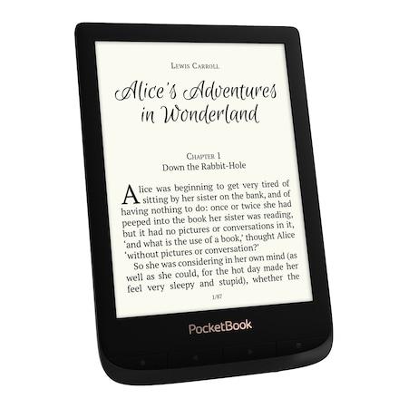 "eBook четец PocketBook Touch Lux 4, PB627, E Ink Carta™, 6"", HD, Wi-Fi, Черен"