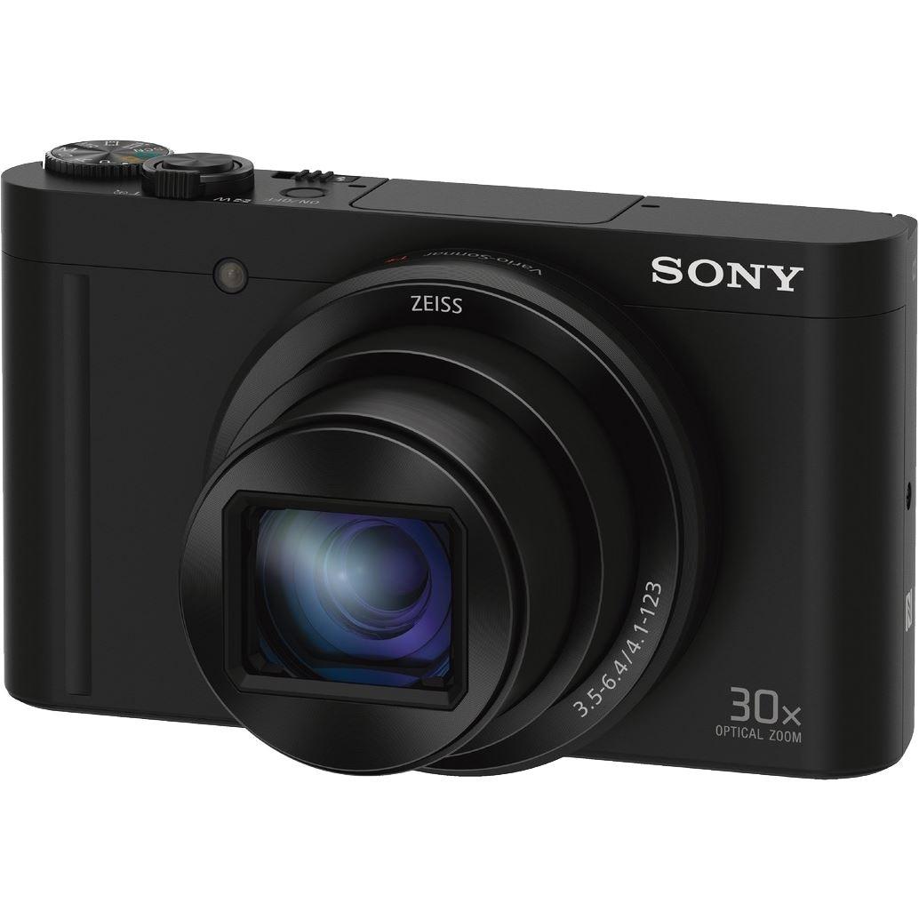 Fotografie Aparat foto digital Sony Cyber-Shot DSC-WX500, 18.2MP, High zoom, Wi-Fi, NFC, Black
