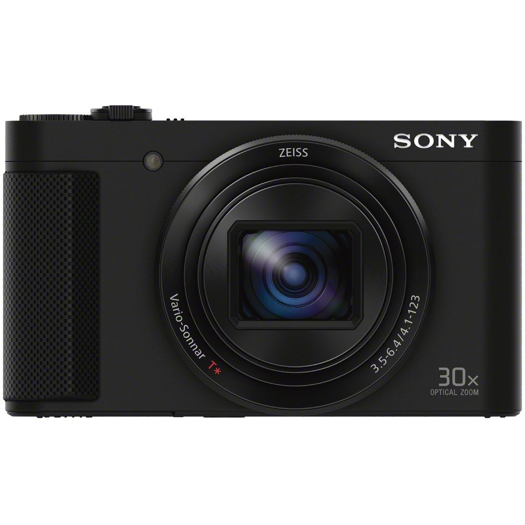 Fotografie Aparat foto digital Sony Cyber-Shot DSC-HX90V, 18.2MP, High zoom, Wi-Fi, NFC, Black