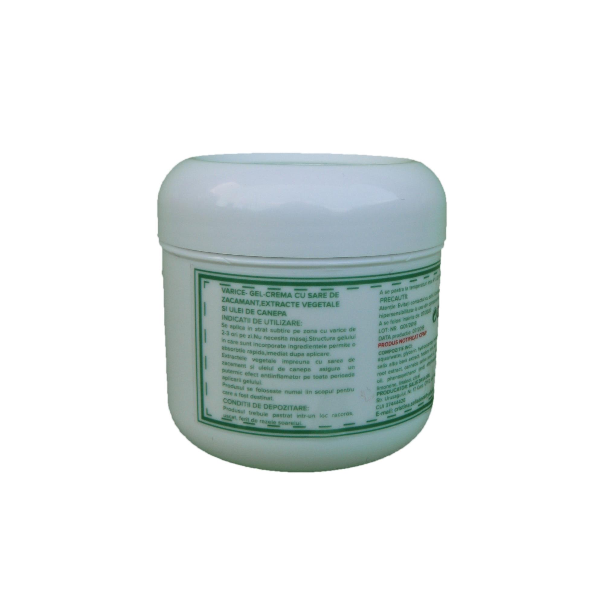 unguent pachet și geluri din varicoză