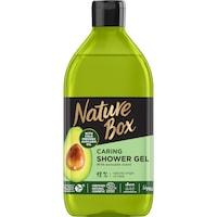 Nature Box tusfürdő, Avokádó a táplált bőrért, 385 ml