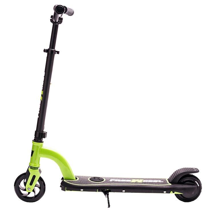 "Fotografie Trotineta electrica Freewheel Rider Kids, Viteza 12 km/h, Autonomie 6 km, Motor 150W, Roti 5.5"", timp incarcare 2-3h, Verde"