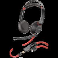 Plantronics Blackwire C5220 Call Center Fejhallgató, USB-C, Binaurális