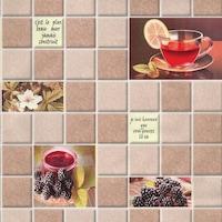 Tapéta DEGRETS 211-03 Mosható, Nedvességálló, Tea bézs, Méret: 0.53m x 10.05m = 5.3 m2