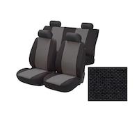 Комплект калъфи за седалки за кола Amio Тапицерия за кола за предни и задни седалки 6 части универсални