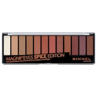 Rimmel London Magnif'eyes Szemhéjfesték paletta, 005 Spice Edition, 14.2 g