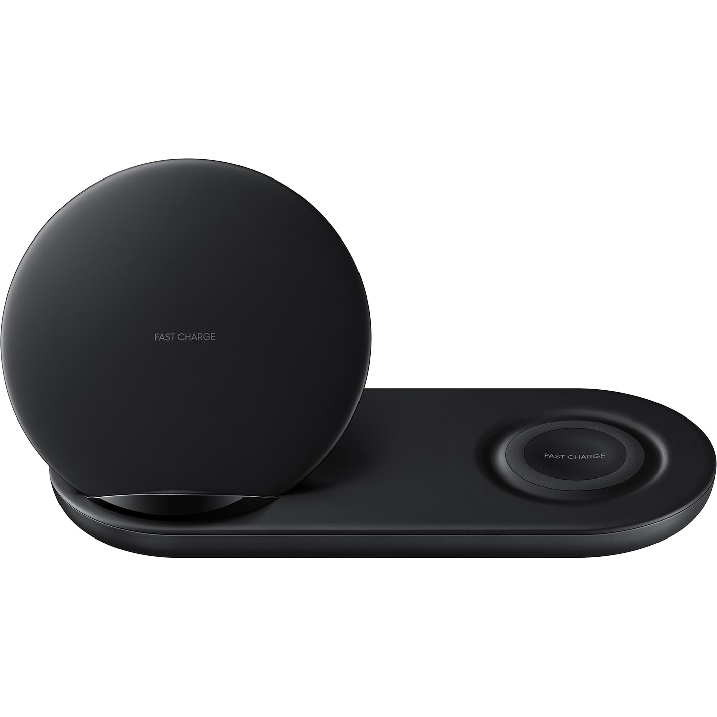 Fotografie Incarcator wireless Samsung Wireless Charger Duo, Incarcator inclus, Black