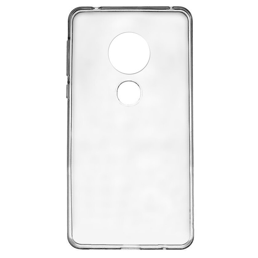 Fotografie Husa de protectie Lemontti Silicon pentru Motorola Moto G6 Play, Clear
