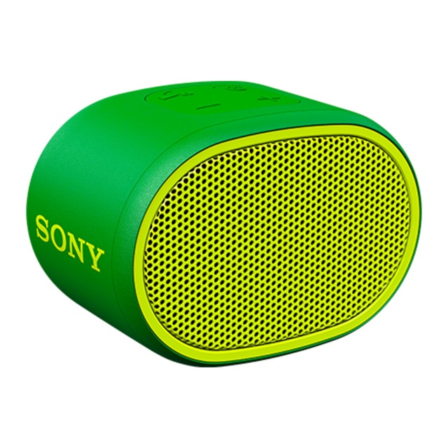 Fotografie Boxa portabila Sony SRSXB01G, Rezistenta la stropire, Extra Bass, Bluetooth, Hands Free, Autonomie 6 ore, Verde
