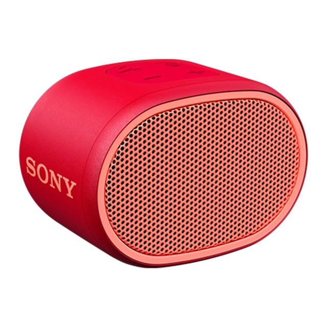 Fotografie Boxa portabila Sony SRSXB01R, Rezistenta la stropire, Extra Bass, Bluetooth, Hands Free, Autonomie 6 ore, Rosu
