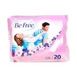 Ежедневни индивидуално опаковани превръзки Be Free, 20 броя, с копринен тип покритие