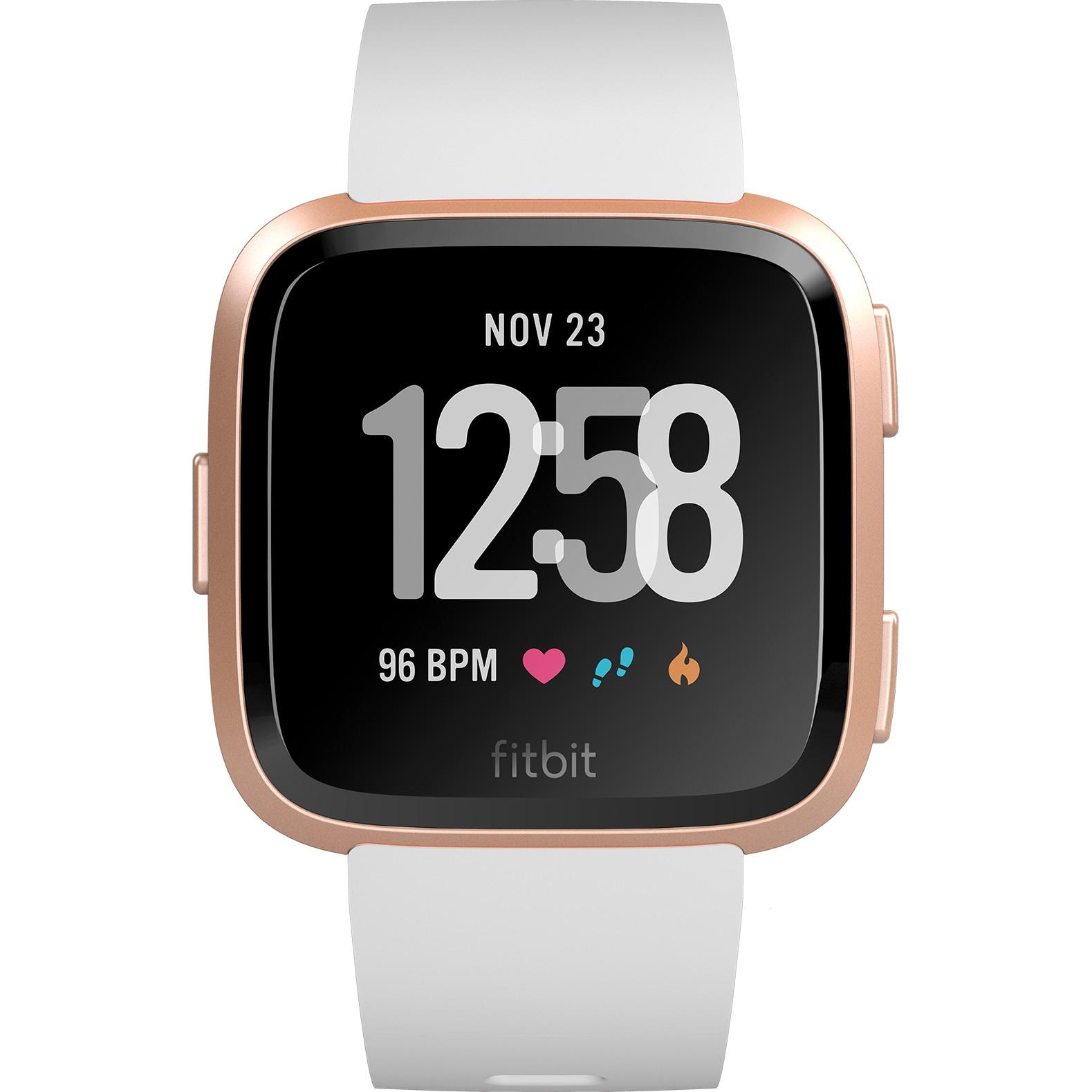 Fotografie Ceas smartwatch Fitbit Versa, Alb