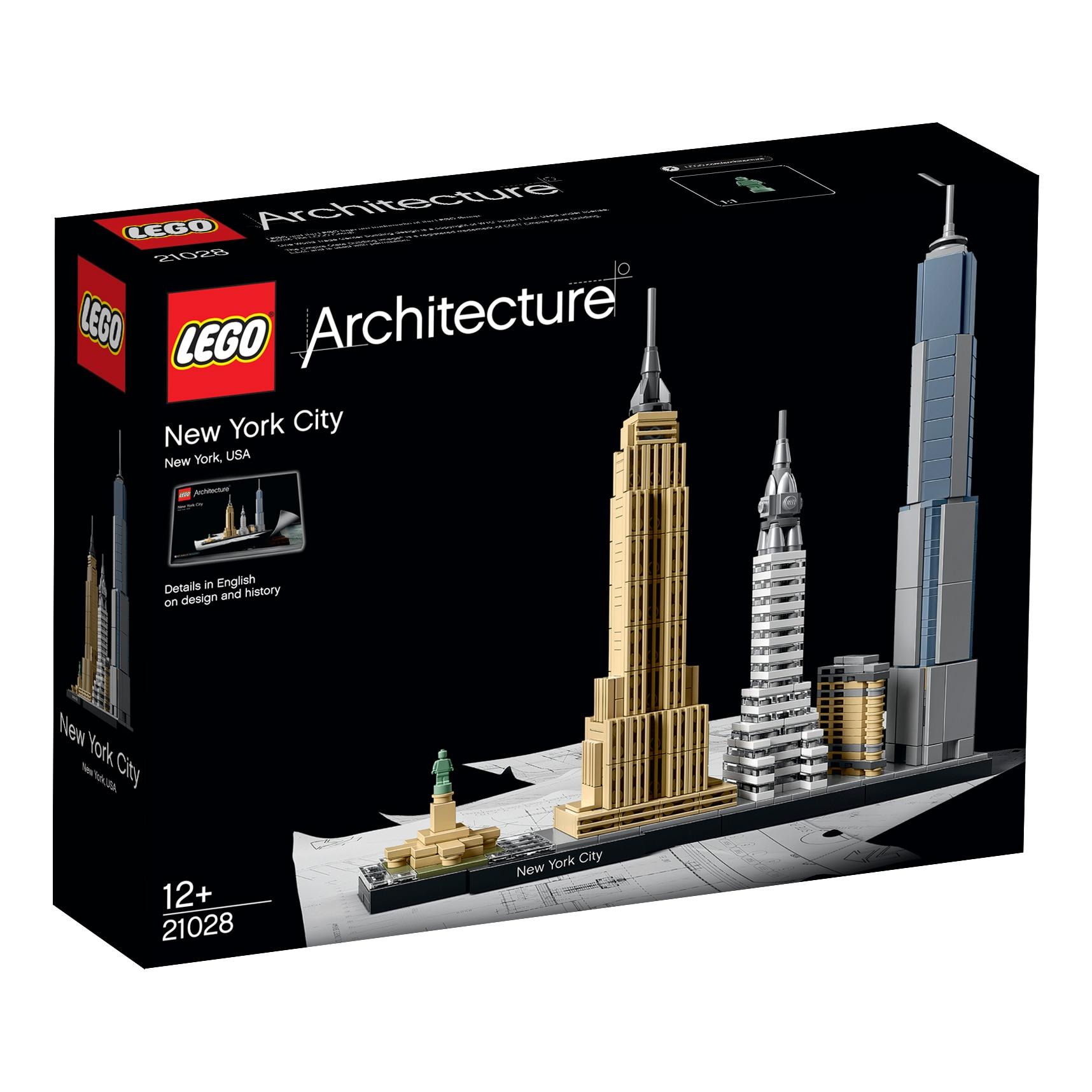 Fotografie LEGO Architecture - New York 21028, 598 piese