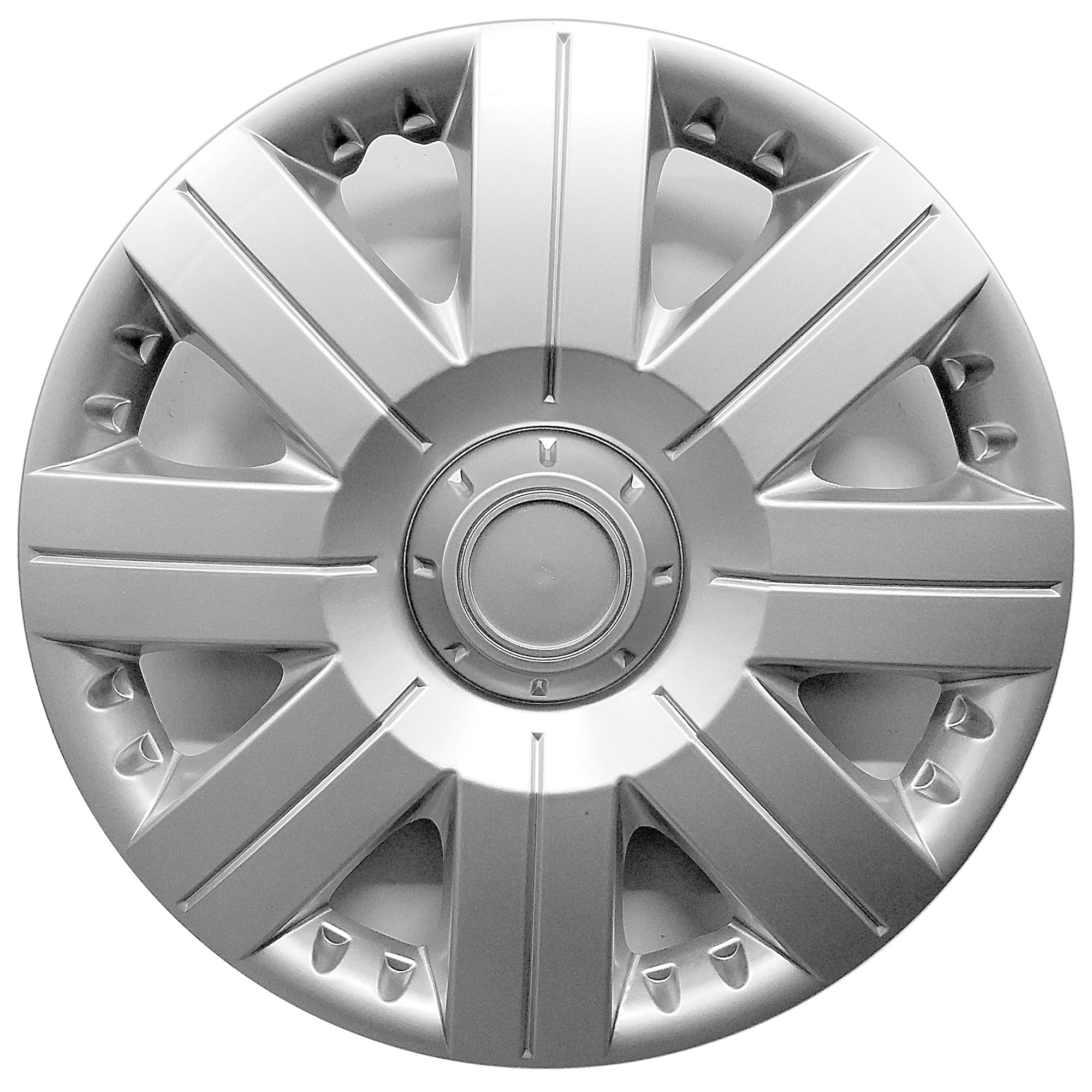 """Fotografie Set capace roti 2Drive 15"""", Argintiu"""