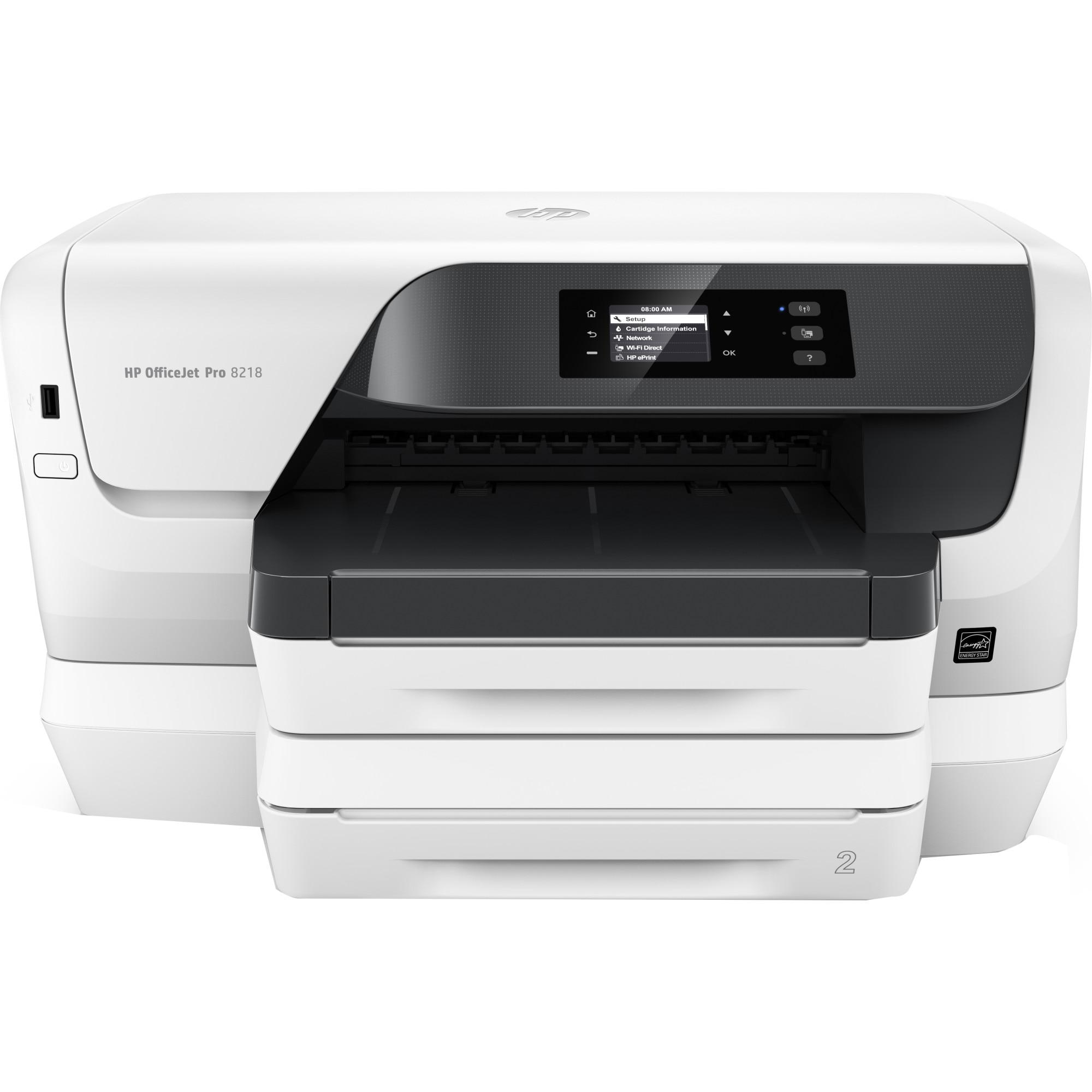 Fotografie Imprimanta inkjet color HP OfficeJet Pro8218, Duplex, Retea, Wireless, A4