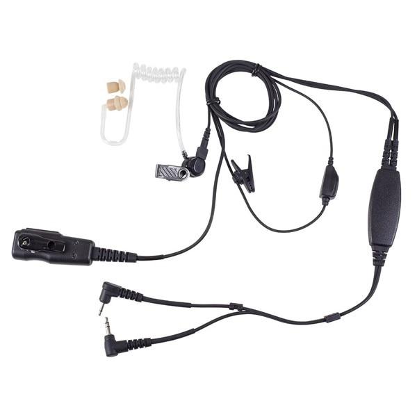 Fotografie Casti cu microfon cu 2 pini Albrecht AE 31, Circuit vox automat
