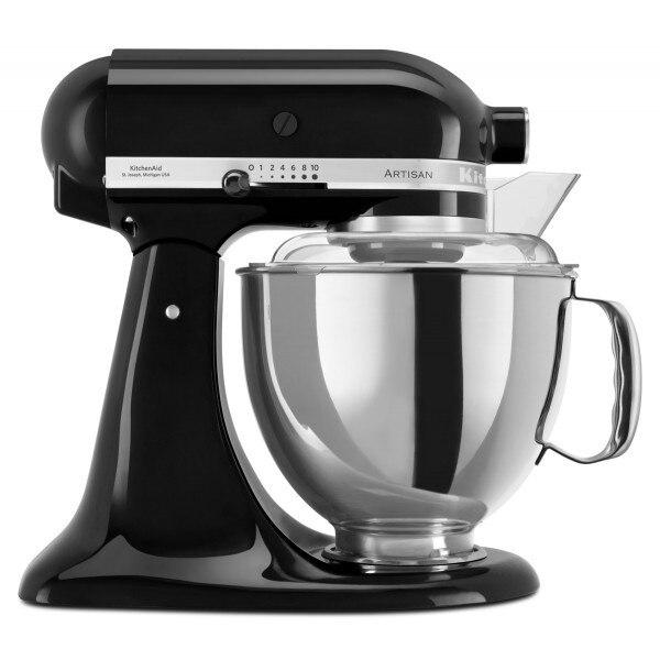 KitchenAid Artisan 4,8L robotgép - onyx fekete yb6xVu