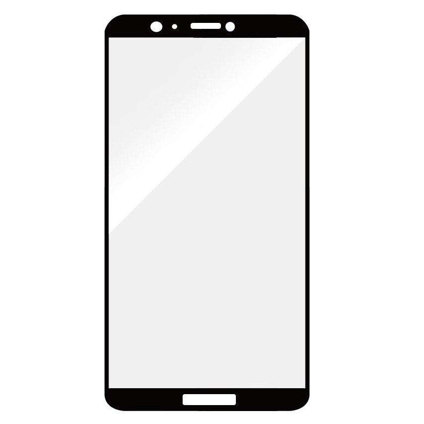Fotografie Folie de protectie Devia Frame Glass pentru Huawei P Smart, Negru