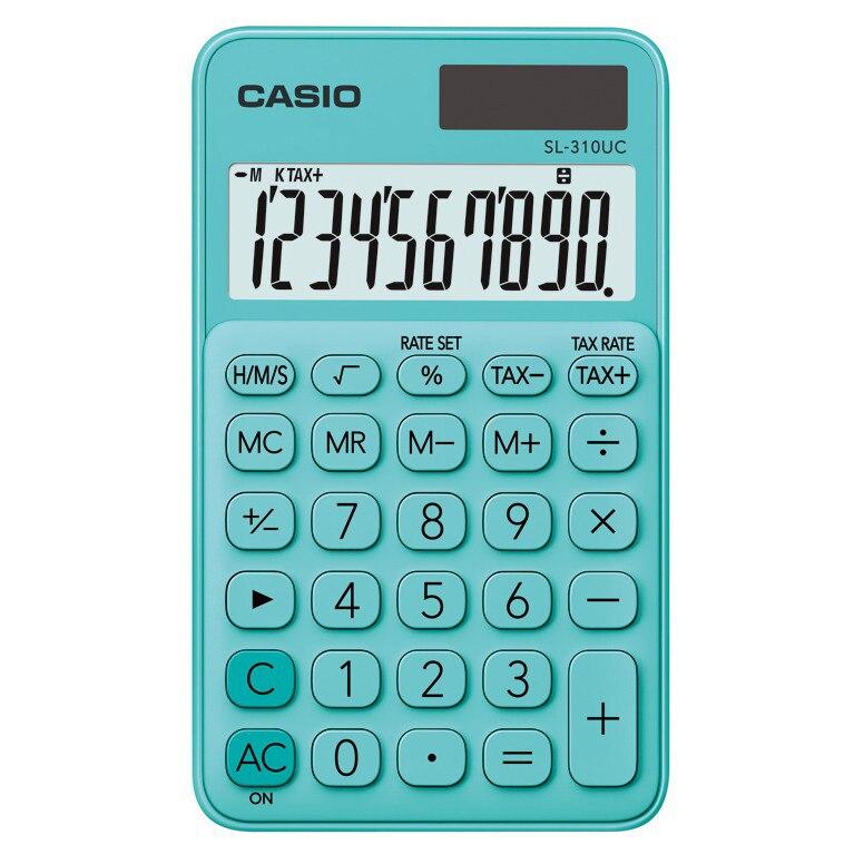 Fotografie Calculator Casio birou 10 digits sl-310uc verde