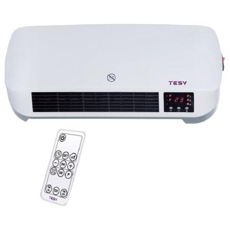 TESY HL 274W PTCW Fali hősugárzó, 2000 W, LED kijelző, távirányító, ERP 2018