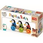Детска играчка Trefl, Пингвини, Дърво