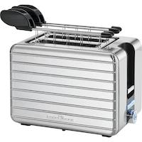 ProfiCook PC-TAZ 1110 kenyérpirító szendvicsfogóval, 860-1050W, 2 szeletes, Inox