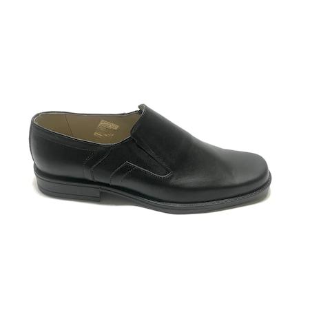 Pantofi eleganti barbati 07, Negri, 42 EU, Piele naturala
