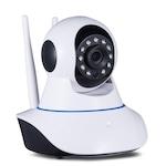 Дигитална WIFI камера KAPP CAM - 100, видеобебефон, 720P Wifi IP , Бял