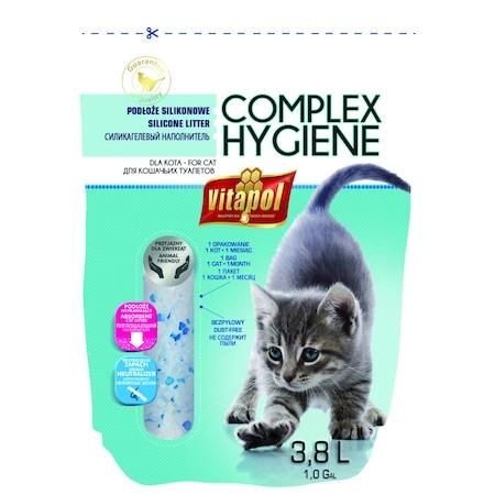 Asternut igienic pentru pisici Vitapol Silicat 3.8L
