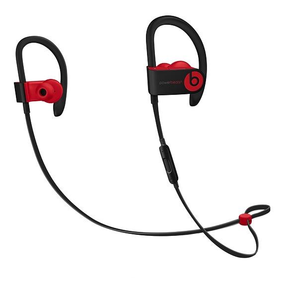 Fotografie Casti Audio Sport In ear Beats PowerBeats 3, Wireless, Bluetooth, Functie Bass, Microfon, Autonomie 12 ore, Defiant Black-Red