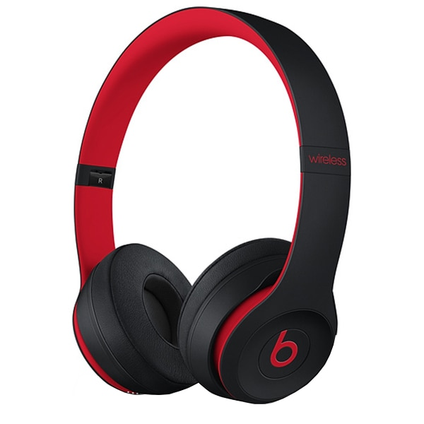 Fotografie Casti audio cu banda Beats Solo 3 by Dr. Dre, Wireless, The Beats Decade Collection, Defiant Black/Red
