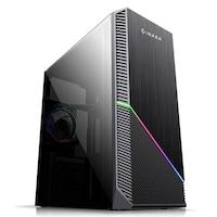 GeFors Home Gaming Asztali számítógép QUADCore® Ryzen3-2200G 3.70Ghz TURBO, RAM 8GB DDR4, HDD 500GB+ SSD 120GB, Video Radeon®Vega8 + Egér billentyűzet