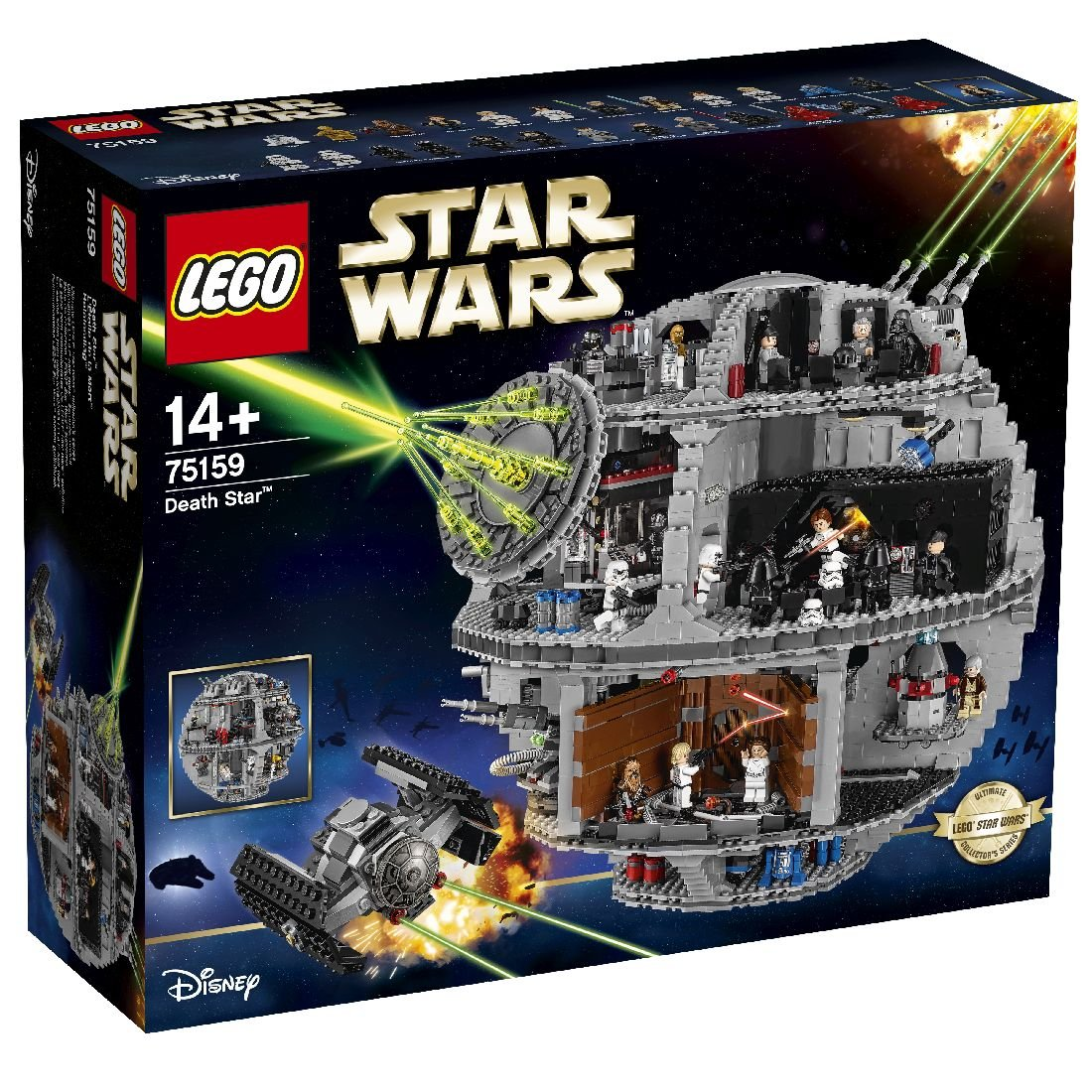 Fotografie LEGO Star Wars - Death Star 75159