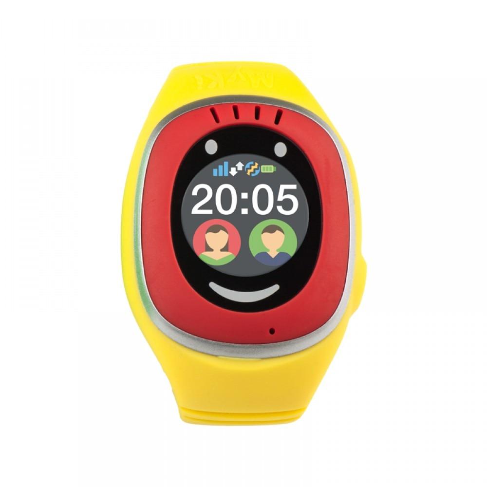 Fotografie Ceas Smartwatch copii MyKi, GPS, touch, Rosu/Galben