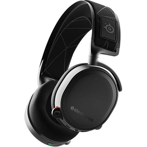Fotografie Casti gaming wireless SteelSeries Arctis 7, Negru