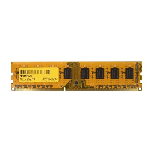 Fotografie Memorie Zeppelin 8GB DIMM, DDR3, 1600MHz