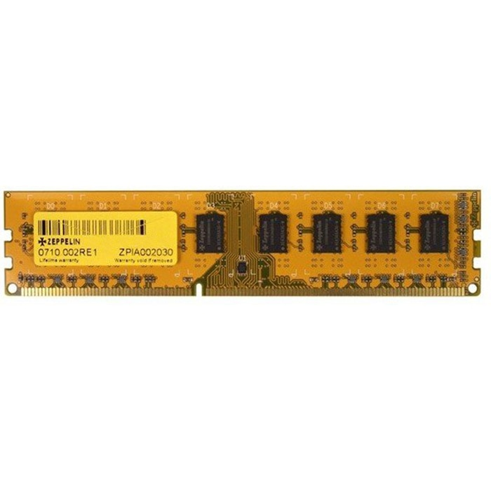 Fotografie Memorie Zeppelin 8GB DIMM, DDR3, 1333MHz
