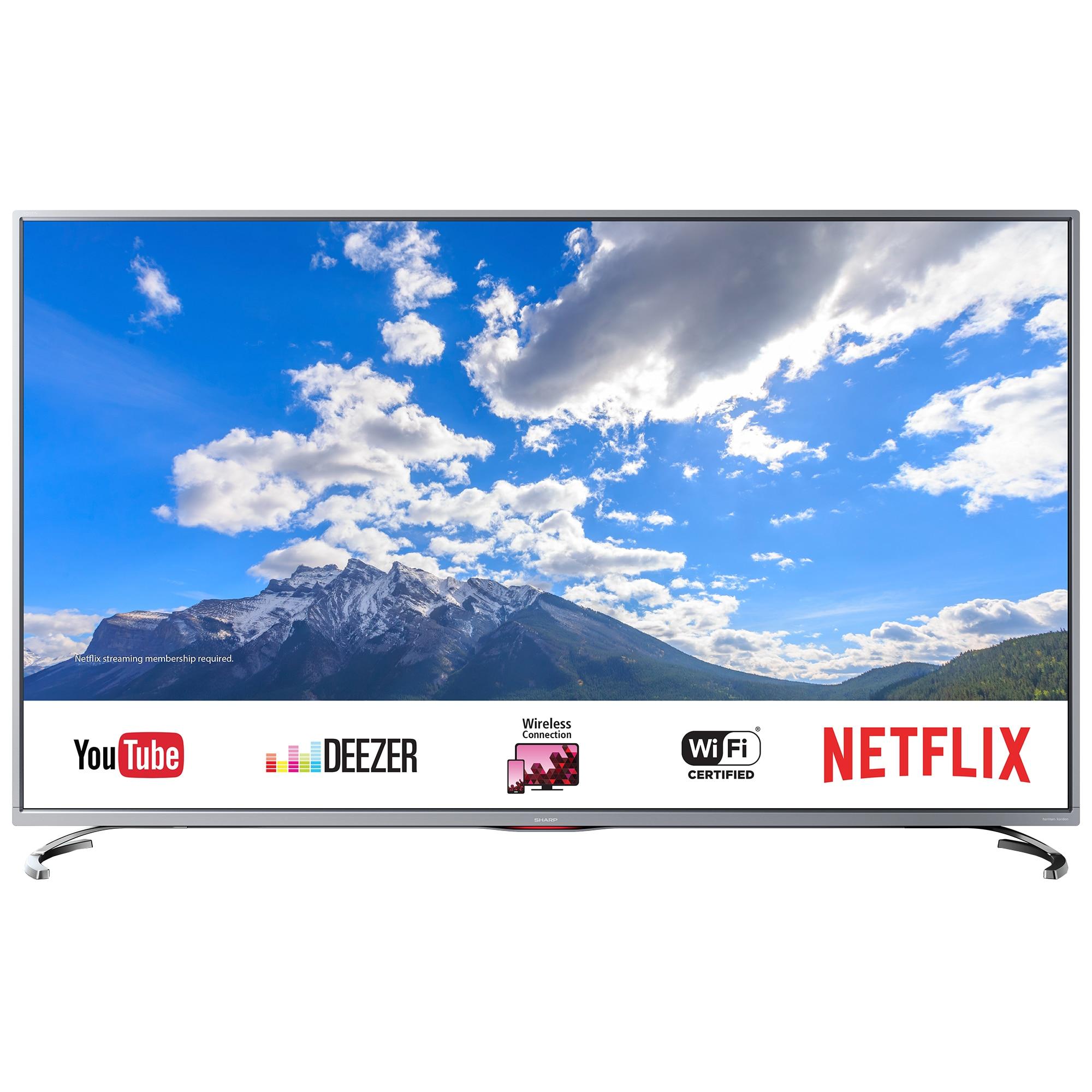 Fotografie Televizor LED Smart Sharp, 139 cm, 55UI8762ES, 4K Ultra HD