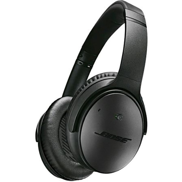 Fotografie Casti Audio Over the Ear Bose QC35 II, Wireless, Bluetooth, Noise cancelling, Microfon, Autonomie 20 ore, Negru