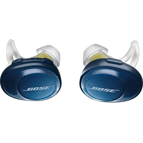 Fotografie Casti Bose SoundSport Free, True Wireless, Navy-Citron