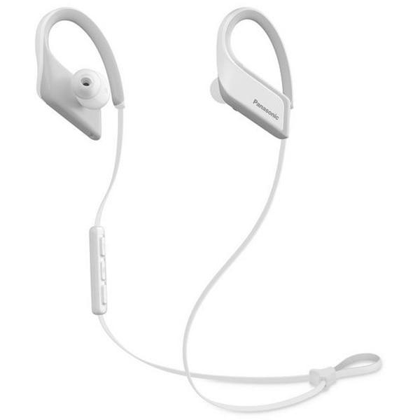 Fotografie Casti Audio Sport In Ear Panasonic RP-BTS35E-W, Wireless, Bluetooth, Microfon, Autonomie 6 ore, Alb