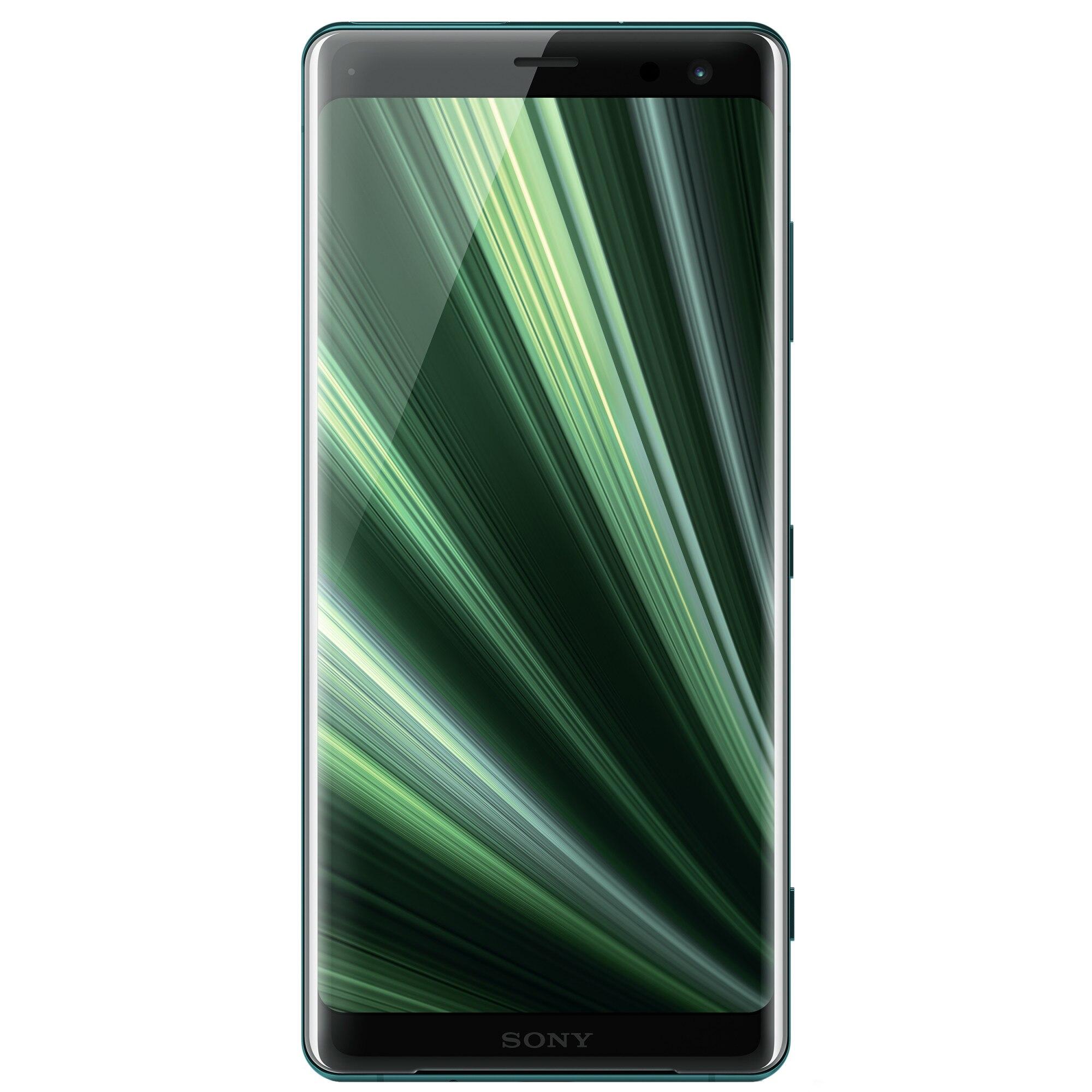 Fotografie Telefon mobil Sony Xperia XZ3, Dual SIM, 64GB, 4G, Forest Green