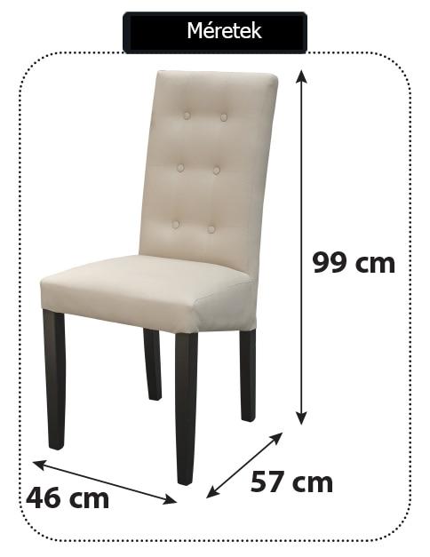 Kring Boston Étkező szék, Krémszín eMAG.hu