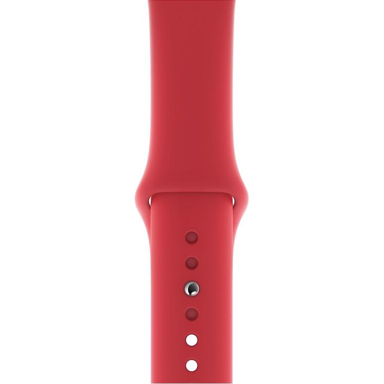 Fotografie Curea pentru Apple Watch 40mm, Sport Band, S/M + M/L, Red