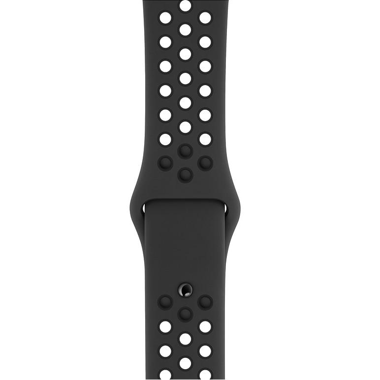 Fotografie Curea pentru Apple Watch 40mm, Nike Sport Band, S/M + M/L, Anthracite/Black